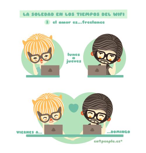 Catpeople: el amor es freelance