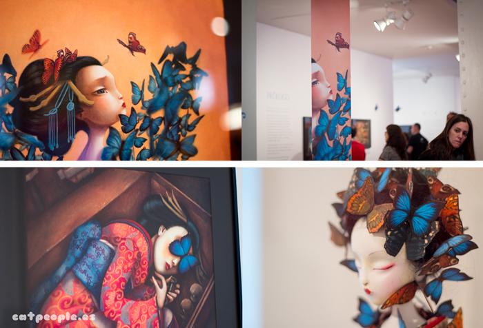 Madama Butterfly de Benjamin Lacombe detalles