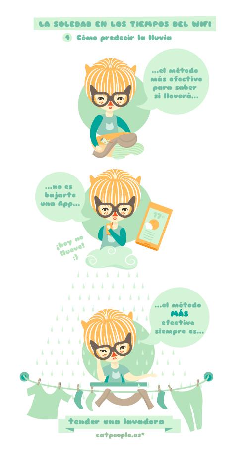 Cat People - La soledad en los tiempos del wifi - Cómo predecir la lluvia