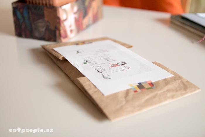 Eva Carot | La postal y la carta