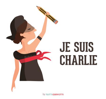Je suis Charlie by Tutti Confetti