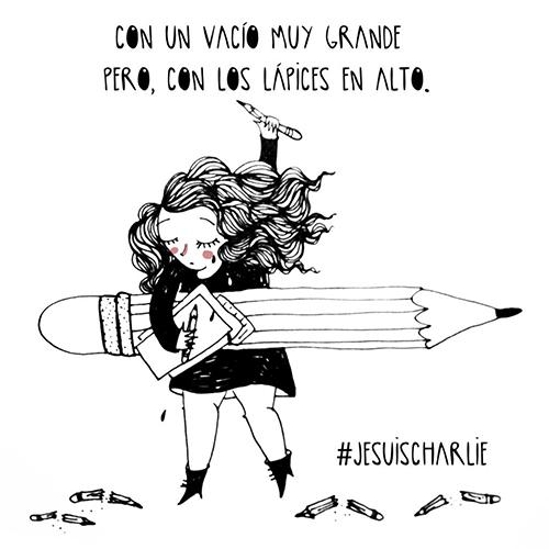Sara Fratini | Je suis Charlie