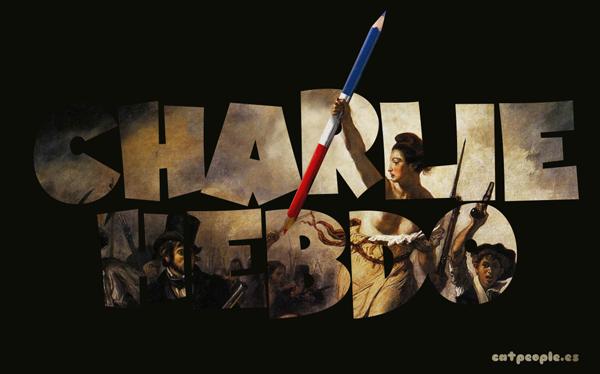 Charlie Hebdo - Libertad de expresión. Arriba los lápices