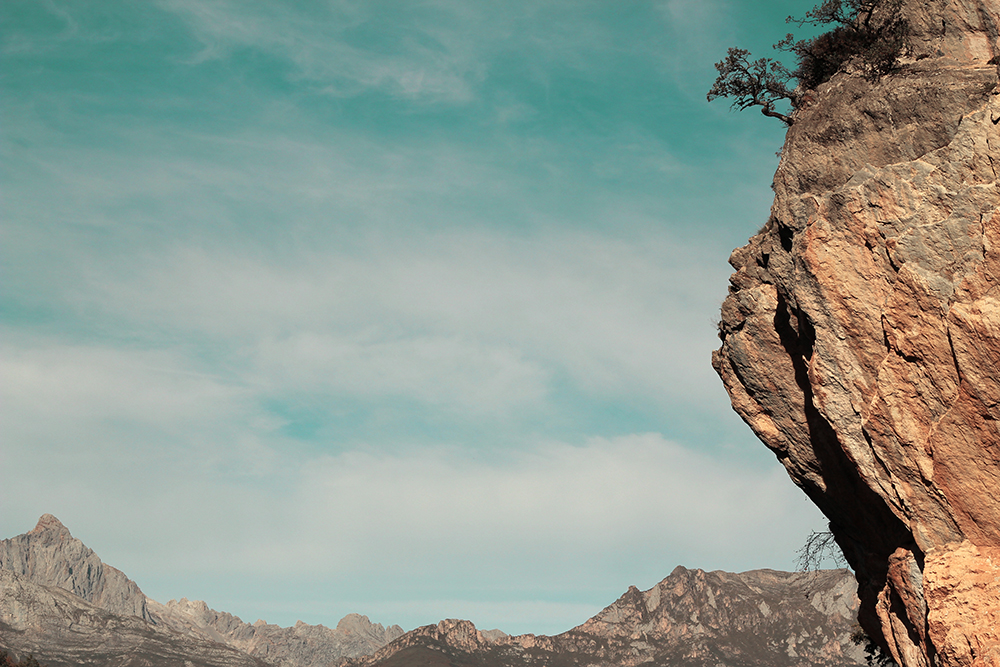 Cosgaya - Montaña con perfil de monja