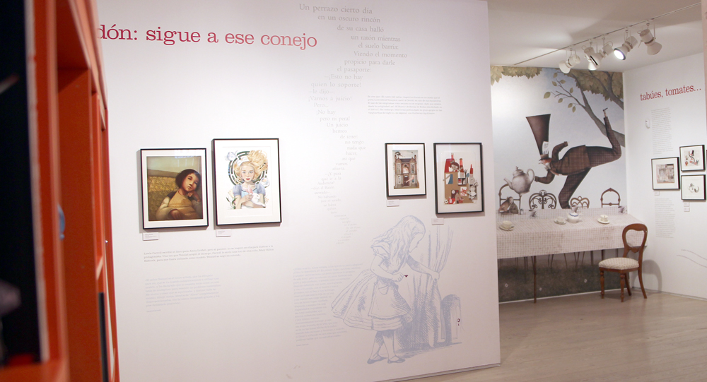 Alicia Museo ABC Rebecca Dautremer Fernando Vicente Iban Barrenetxea Carmen Queralt