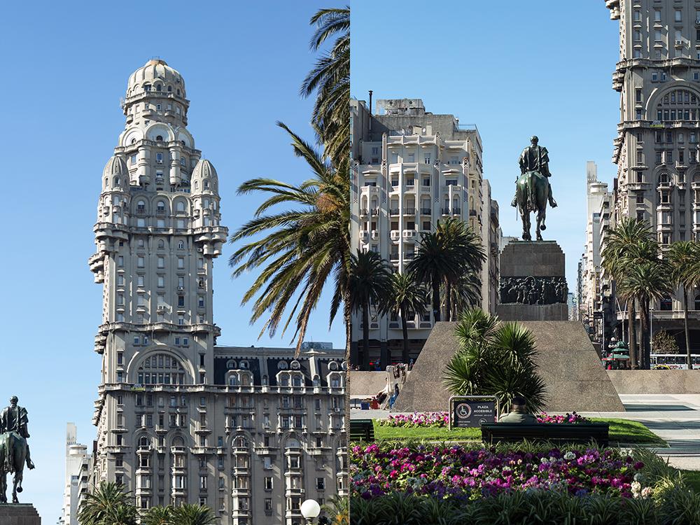 Montevideo Plaza de la Independencia Monumento a Artigas