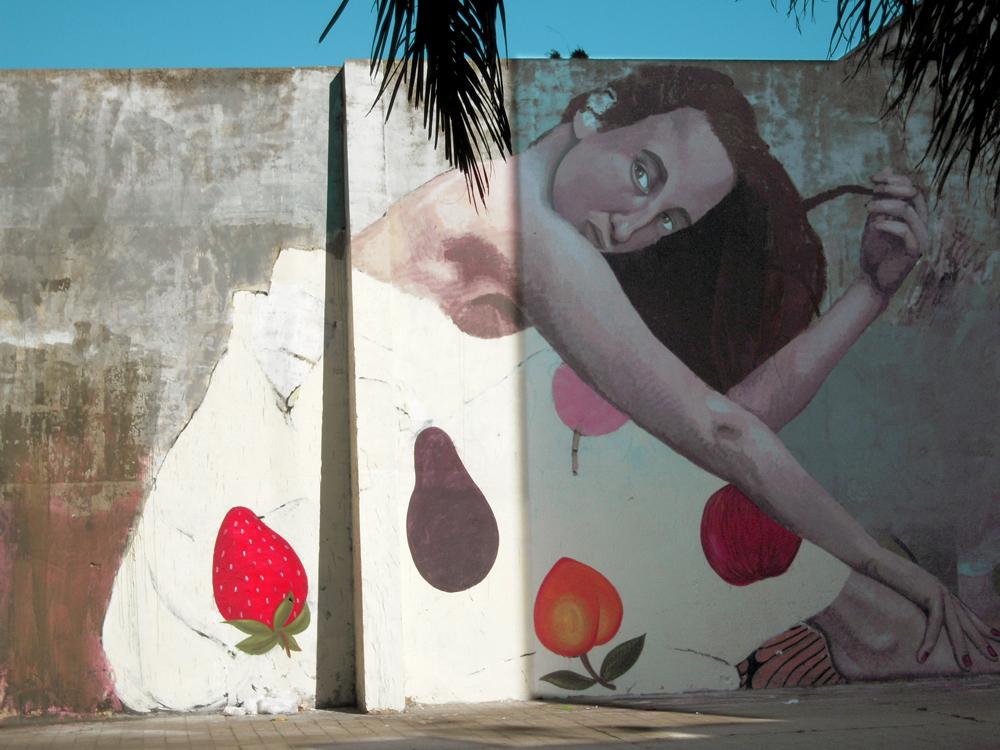 Mural en Ciudad Vieja