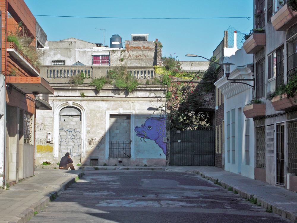 Ciudad Vieja de Montevideo Murales y Graffitis