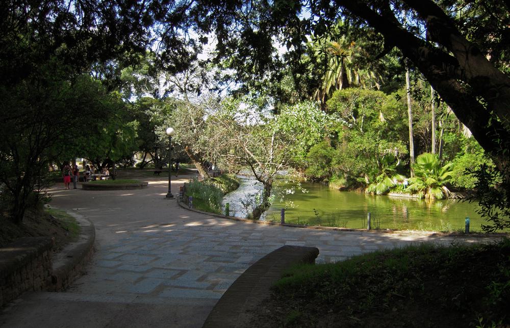 Parque Rodó de Montevideo