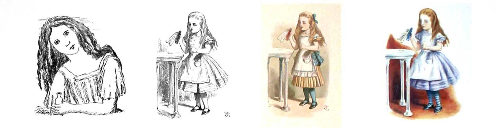 Alicia Museo ABC Alicia Ilustrada John Tenniel
