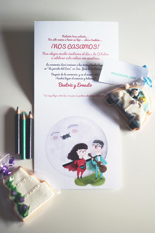 Invitación de Boda de Ernesto y Beatriz