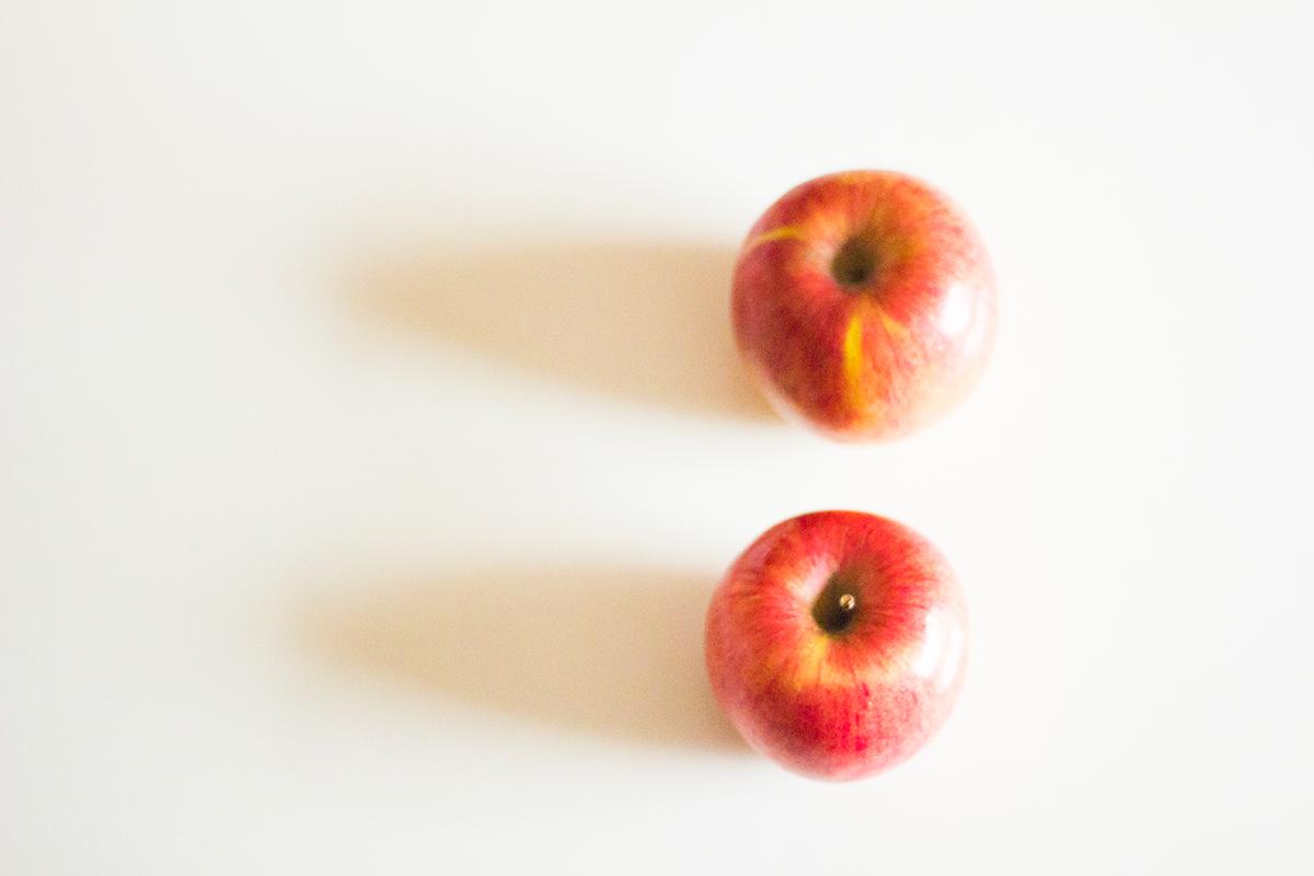 Tarta de manzana, canela y copos de avena - Manzanas Golden