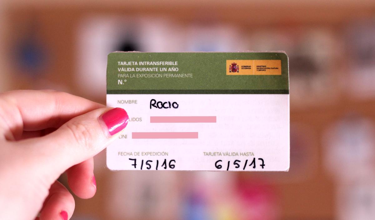 Tarjeta Anual de Museos Estatales - 36,06 €