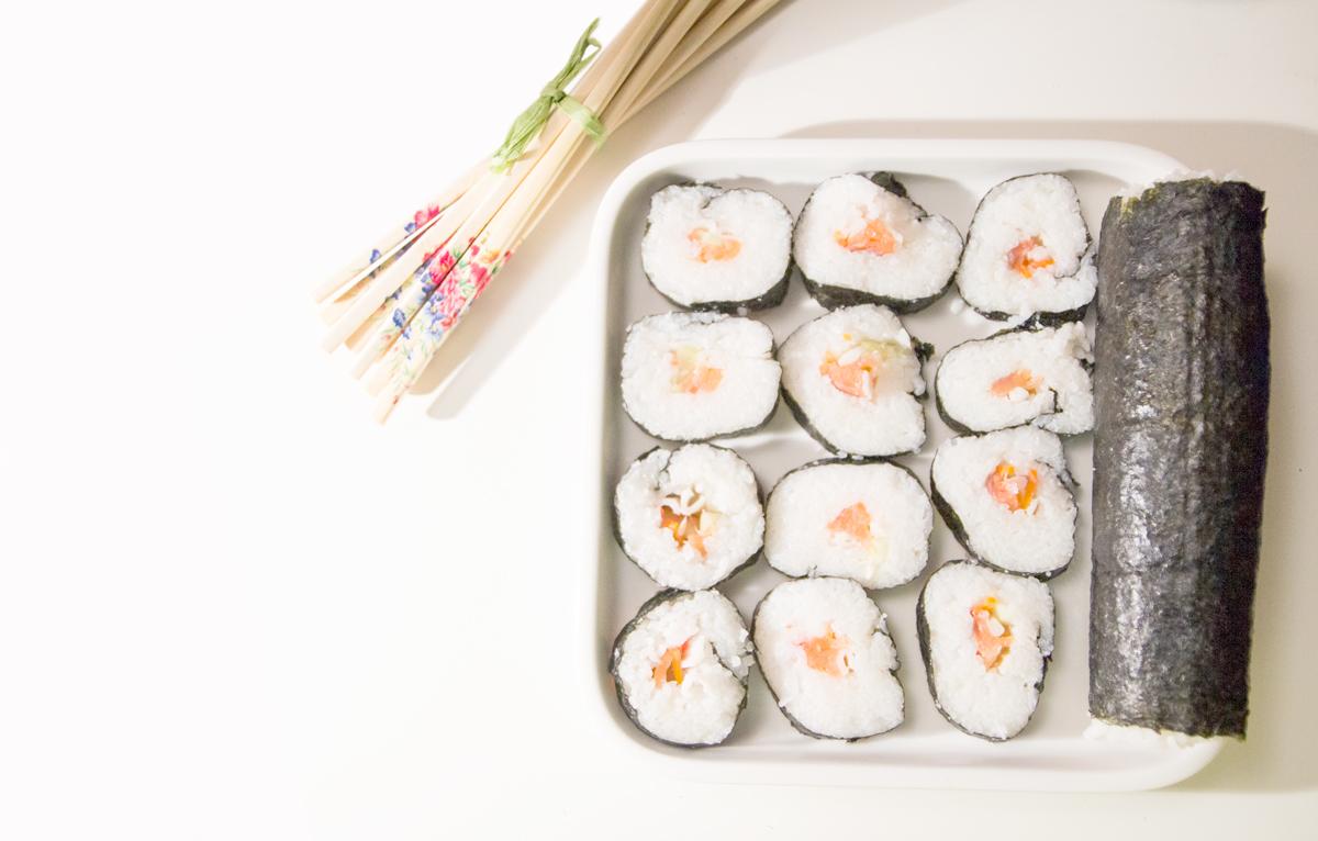 Maki sushi para dos